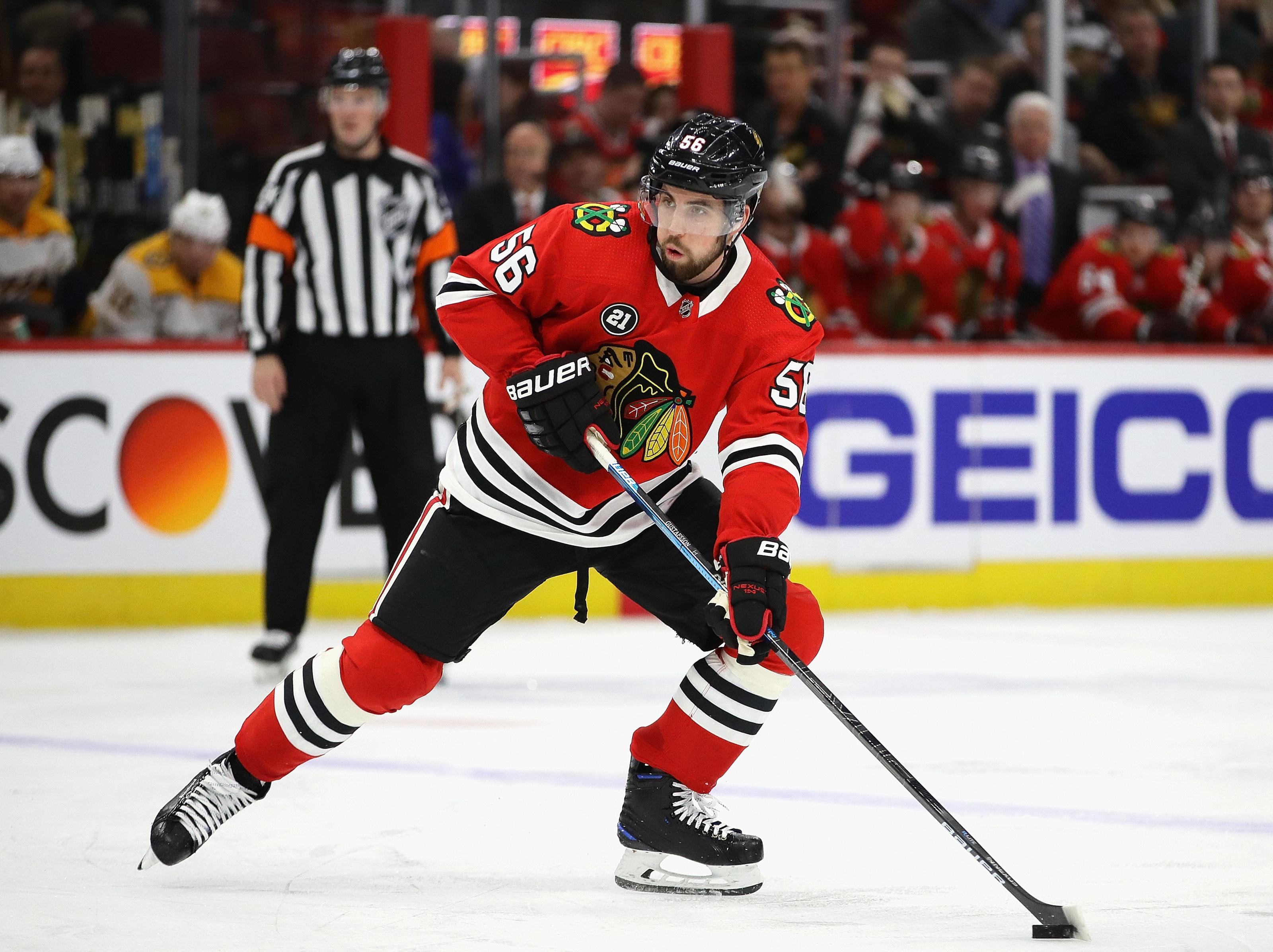 Chicago Blackhawks: Erik Gustafsson traded to Calgary Flames