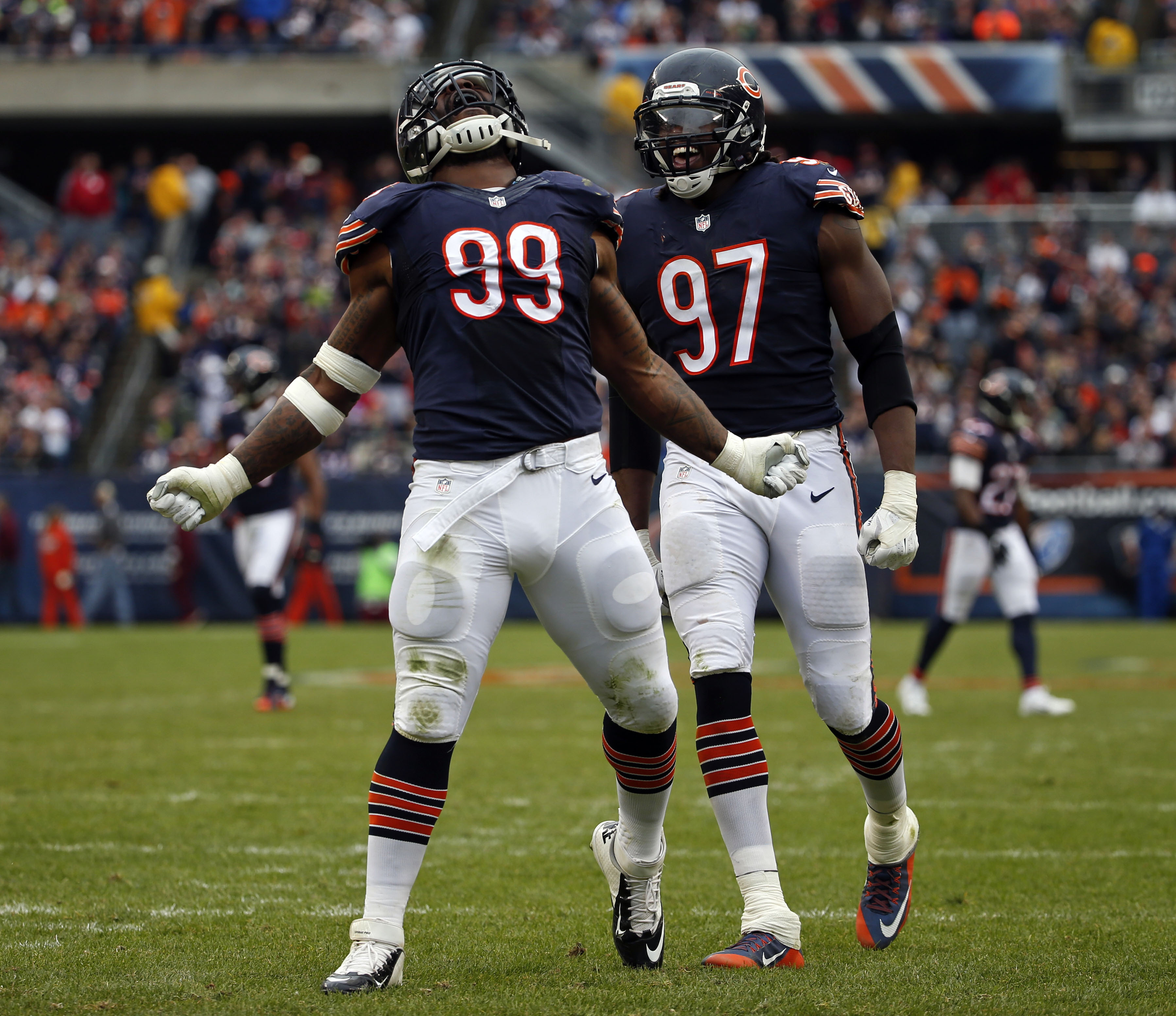 Chicago Bears Roster: Chicago Bears: Five Players That Won't Return In 2017