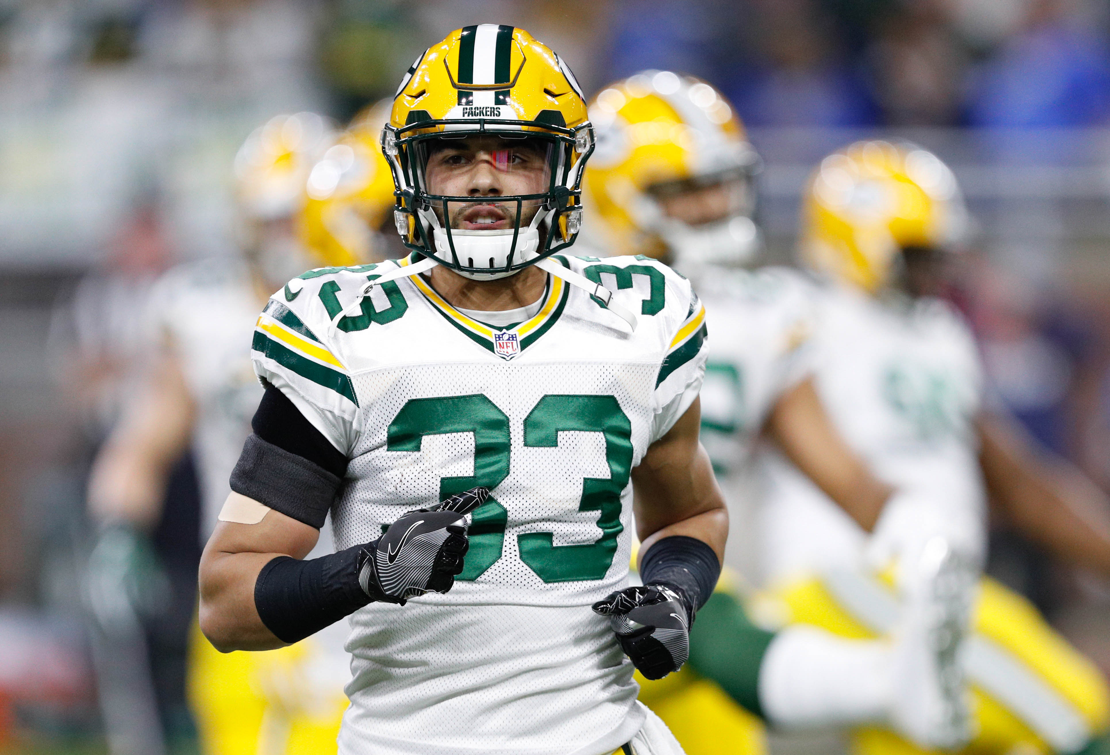 6ffbf2ba9 ... USA Green Bay Packers defensive Former Packers S Micah Hyde finding  success with Buffalo Bills Micah Hyde Jersey Chicago Bears Free Agency 2017  Top Five ...